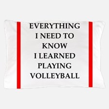 volleyball joke Pillow Case