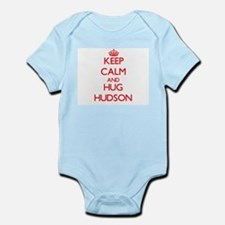 Keep calm and Hug Hudson Body Suit