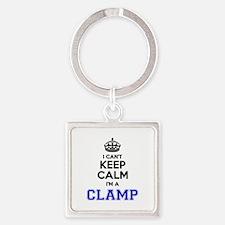 CLAMP I cant keeep calm Keychains