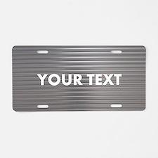 Custom Metal Aluminum License Plate