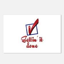 Gettin' it Done Postcards (Package of 8)