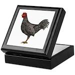 Chicken Doming Keepsake Box
