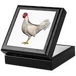 Chicken (White) Keepsake Box