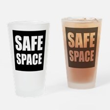 Safe Space Drinking Glass