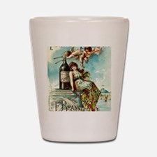 Cool Vintage advertisement Shot Glass