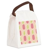 Aloha seamless pattern insulated Canvas Lunch Bag