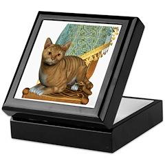 Cat (Red Tabby) Keepsake Box