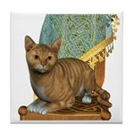 Cat (Red Tabby) Tile Coaster