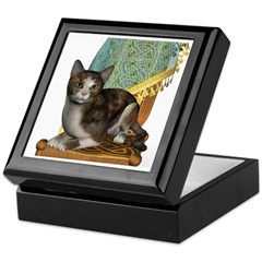 Cat (Calico) Keepsake Box