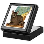 Cat (Abyssinian) Keepsake Box
