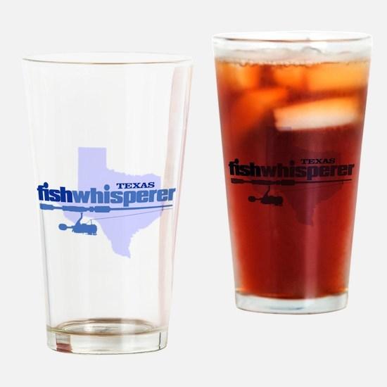 Texas fishwhisperer Drinking Glass