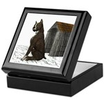 Dog (Staffordshire) Keepsake Box