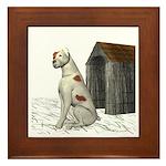 Dog (Parsons) Framed Tile