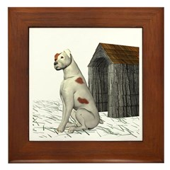 Dog (Parsons) Framed Tile