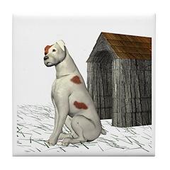 Dog (Parsons) Tile Coaster