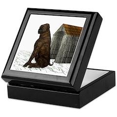 Dog (Mastiff) Keepsake Box