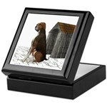 Dog (Hound Brown N Tan) Keepsake Box