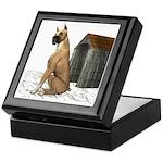 Dog (Great Dane) Keepsake Box