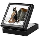 Dog (German Shepherd) Keepsake Box