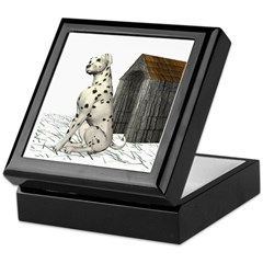 Dog (Dalmation) Keepsake Box