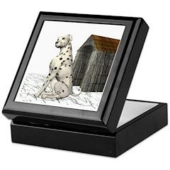 Dog (Dalmation) Keepsake Box