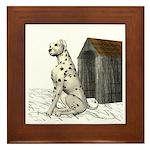 Dog (Dalmation) Framed Tile