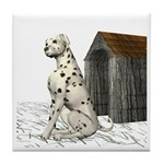 Dog (Dalmation) Tile Coaster