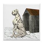 Dog (Dalmation) Tile Coaster