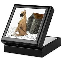 Dog (Boxer) Keepsake Box
