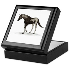 Horse (Paint) Keepsake Box