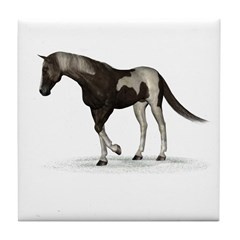 Horse (Paint) Tile Coaster