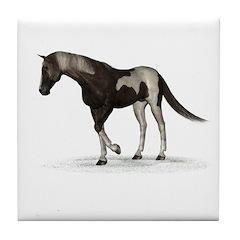 Horse (Paint) Tile Coaster
