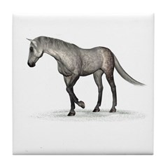 Horse (Dapple) Tile Coaster