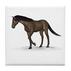Horse (Brown) Tile Coaster