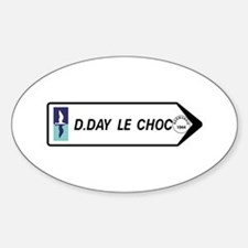 D-Day The Clash, France Oval Decal