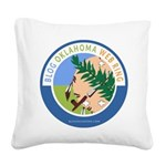Blog Oklahoma Square Canvas Pillow