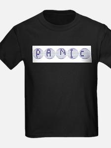 Panic Ash Grey T-Shirt