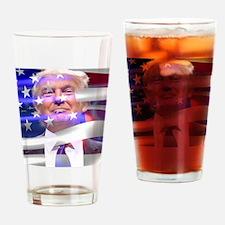 Cute Murica Drinking Glass
