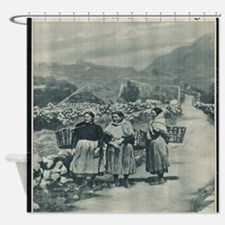 Unique Irish vintage Shower Curtain
