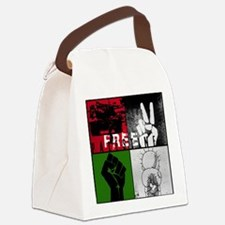 Cool Free palestine Canvas Lunch Bag