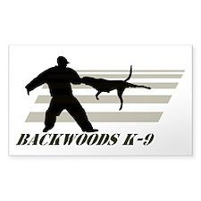 Backwoods K-9 Logo Decal