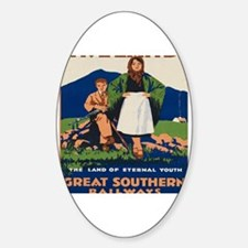 Cute Southern ireland Decal