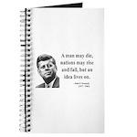 John F. Kennedy 3 Journal