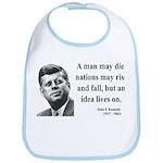 John F. Kennedy 3 Bib