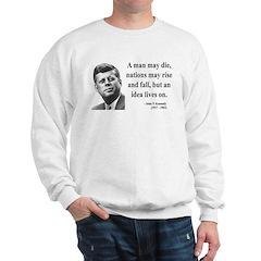 John F. Kennedy 3 Sweatshirt