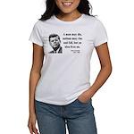 John F. Kennedy 3 Women's T-Shirt