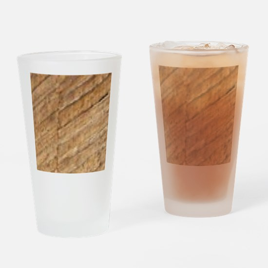 Funny Crack climbing Drinking Glass