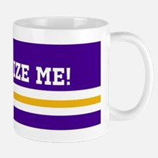 Purple and Gold Team Colors with Your T Mug