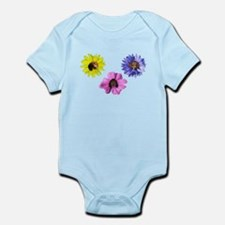 Blooming Beagle Trio Body Suit