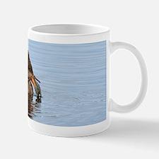 Female hoodei with a sunfish Mug